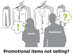 Promotional items not selling?