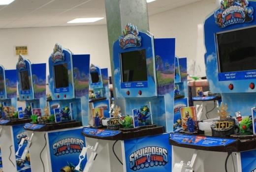 Skylanders display