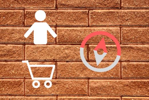 bricks and morter retail sales