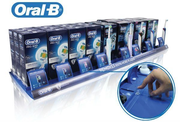Oral B point of sale