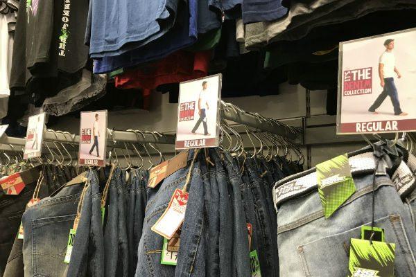 reflex in a discount store