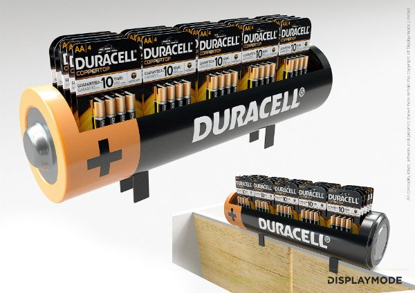 Duracell POS Display