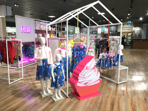 in-store at Debenhams