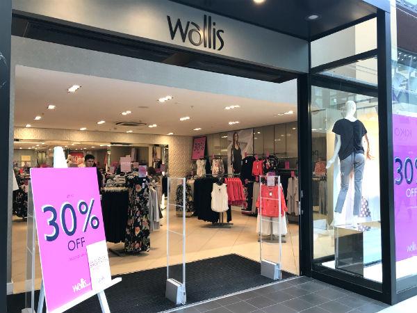 Wallis store