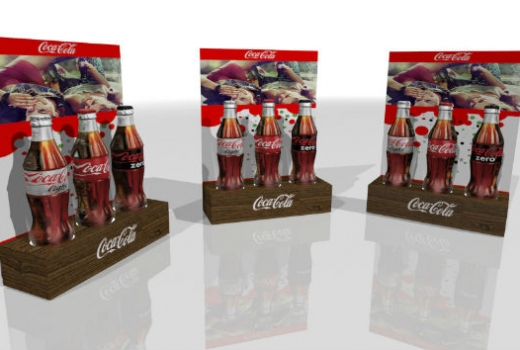 Coca Cola POP Display