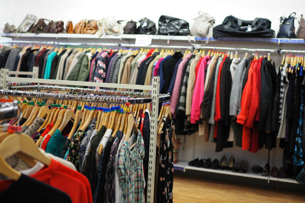 clothes resale is not new, jumble sales exist