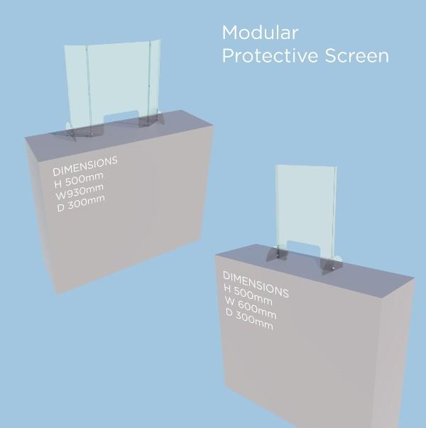 Modular Protective Screen