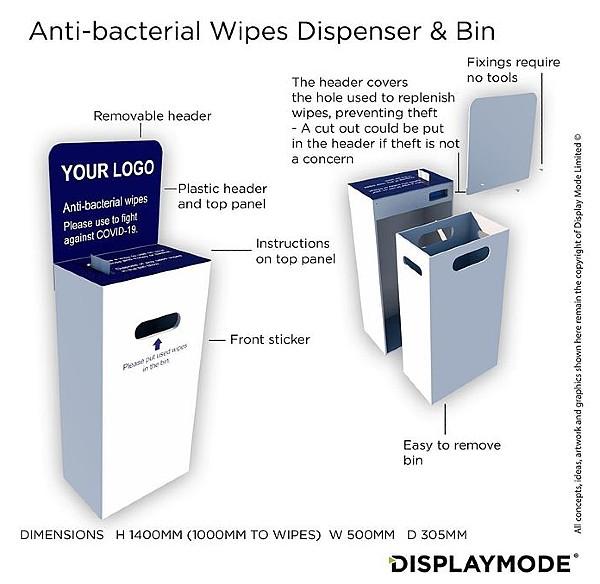 dispenser to fight Covid19